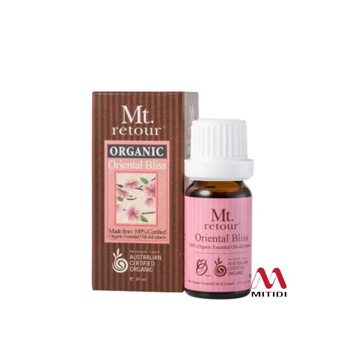 Tinh dầu hữu cơ Oriental Bliss Blend Certified Organic Essential Oil Mt retour
