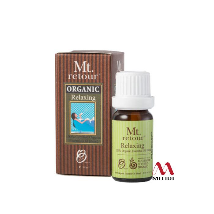 Tinh dầu hữu cơ Relaxing Blend Certified Organic Essential Oil Mt retour