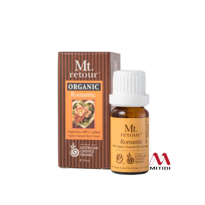Tinh dầu hữu cơ Romantic Blend Certified Organic Essential Oil Mt Retour
