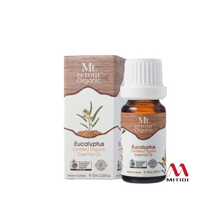 Tinh dầu khuynh diệp Eucalyptus Certified Organic Essential Oil Mt retour