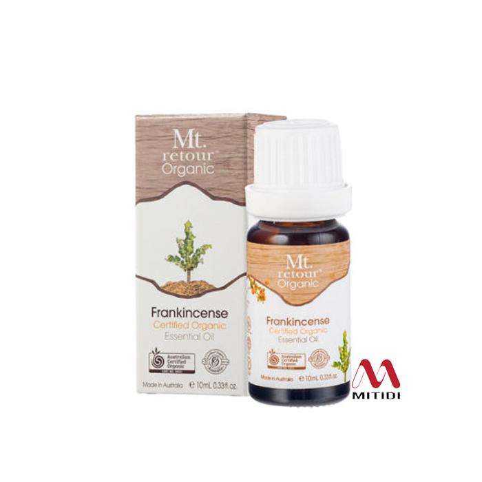 Tinh dầu trầm hương Frankincense Certified Organic Essential Oil Mt retour