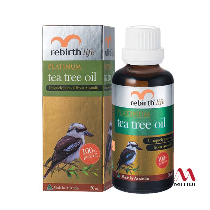 Tinh dầu tràm trà Rebirth Platinum Tea Tree Oil