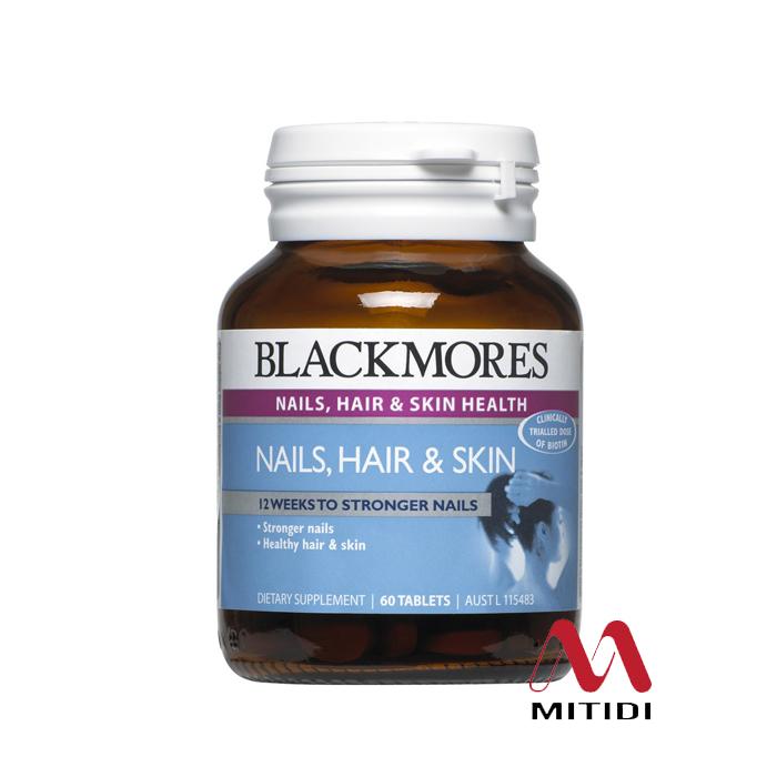 Viên uống Blackmores Nails, Hair & Skin
