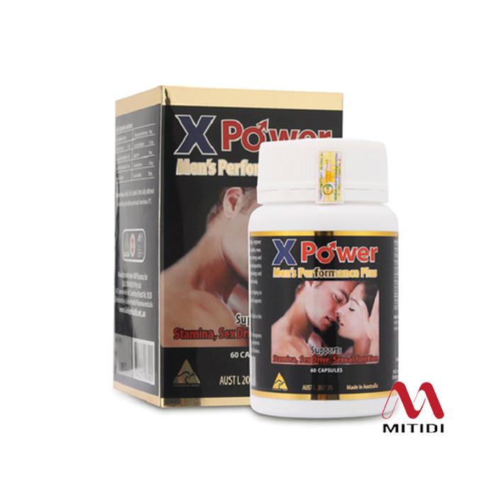 Viên uống tăng cường sinh lực nam giới Golden Health X Power Men's Performance Plus