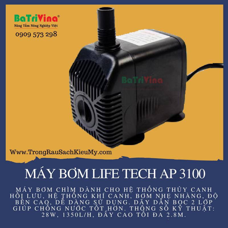 Máy bơm Life Tech 3100