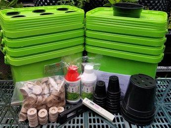 Thùng Trồng Rau Thủy Canh Tĩnh BaTriVina - Với 2 phiên bản đặc biệt giúp bạn có thể trồng được mọi loại rau, củ, quả