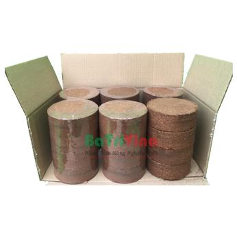 Mụn dừa Ép bánh (Đã xử lý) dùng thay đất sạch