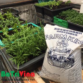 Bao 15 kg Phân Gà hữu cơ Nhật bản FarmKing