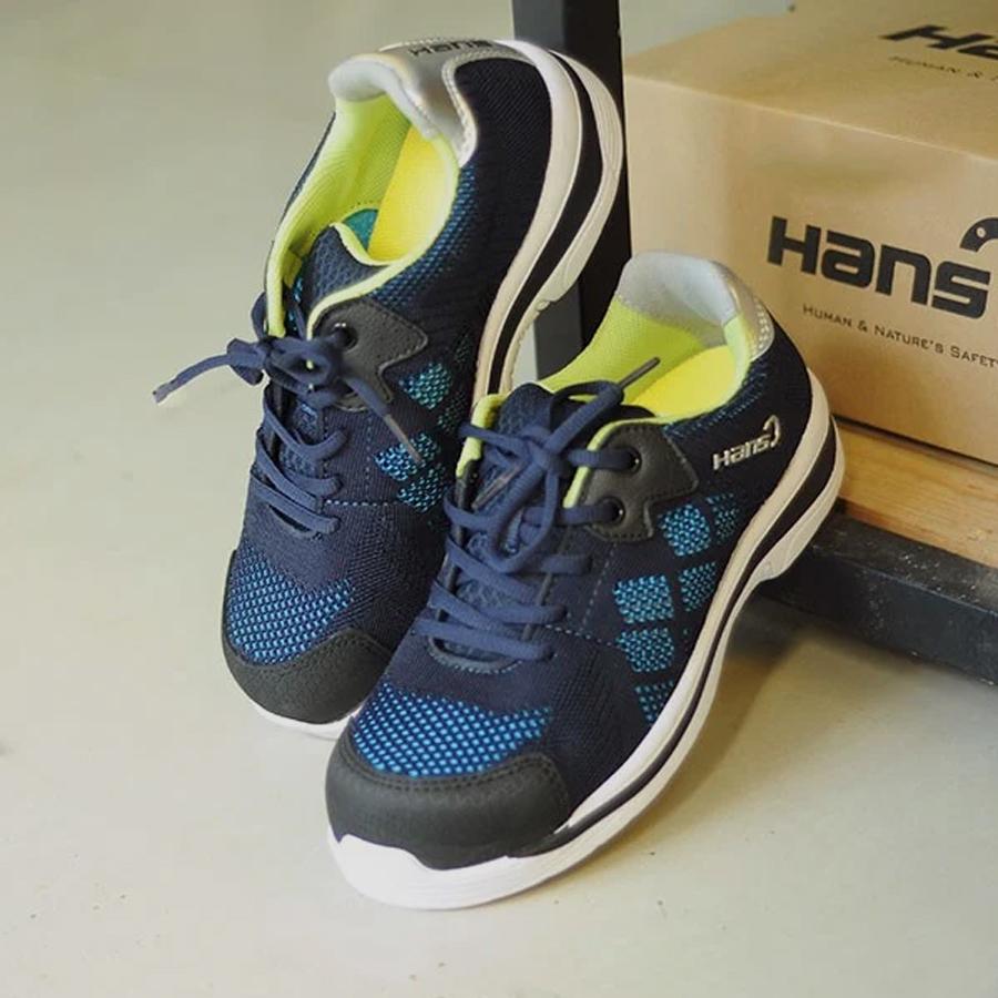 Giày Bảo Hộ Siêu Nhẹ Hàn Quốc Hans-HS-90 Chỉ 360gr/ Chiếc