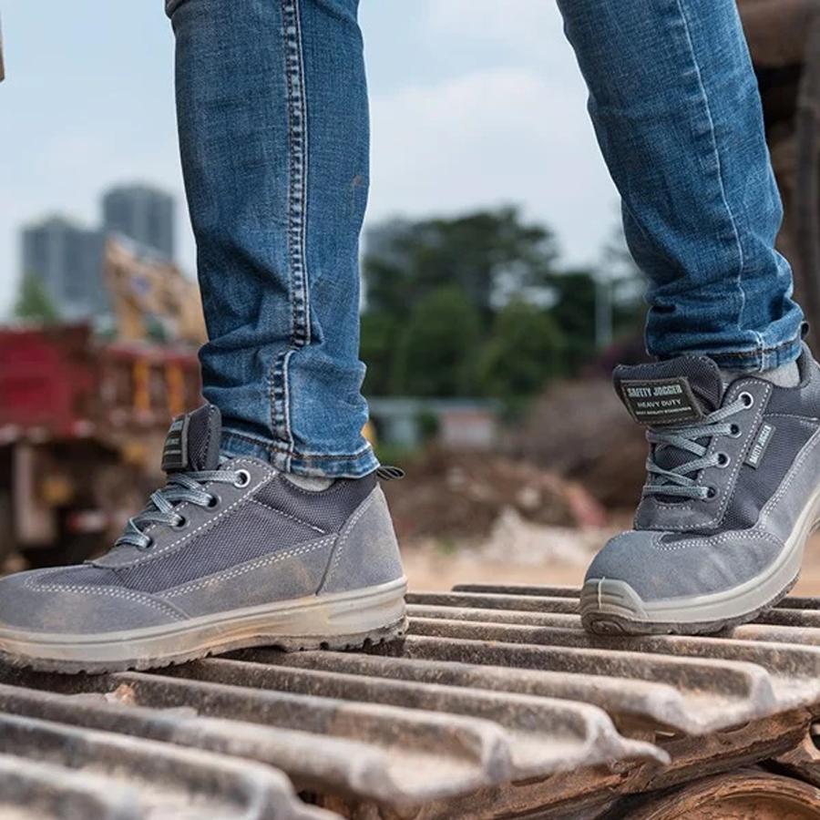 #1 Giày Bảo Hộ Nữ  Safety Jogger Organic S1P Nhập Khẩu