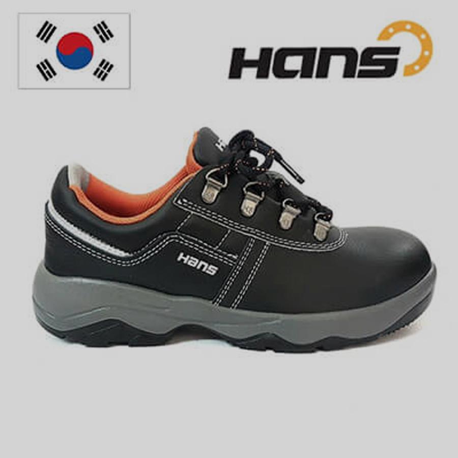 Giày Bảo Hộ Hàn Quốc Hans HS-60 Chất Liệu Da Bò Thật 1.6mm