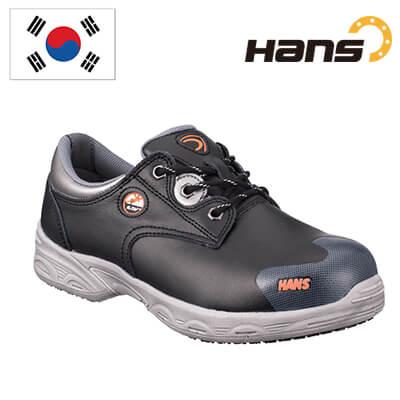 Giày Bảo Hộ Hàn Quốc Hans HS 302-1 Chất Liệu Da Bò