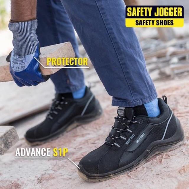 Giày Bảo Hộ Nam Jogger ADVANCE S1P Cho Anh Em Kỹ Sư