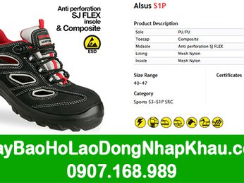 Bán giày bảo hộ lao động nhập khẩu Jogger giá rẻ