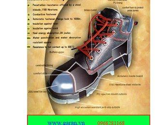 Bán sỉ lẻ giày bảo hộ lao động