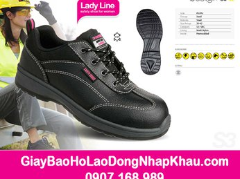 Chọn mua giày bảo hộ cho nữ