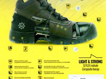 Giày bảo hộ cách điện - Đảm bảo an toàn trong ngành điện