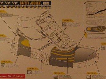 Giày bảo hộ Jogger Bestrun S3 giá rẻ và thời trang