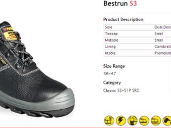 Giày Bảo Hộ Jogger Bestrun giá cực tốt
