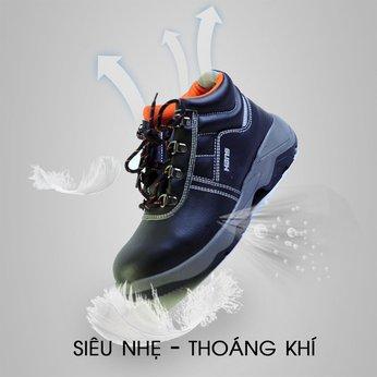 Giày Bảo Hộ Hàn Quốc Hans HS-55 Cao Cổ