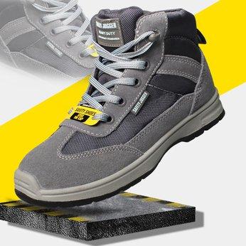 Giày Bảo Hộ Cho Nữ Jogger Botanic S1P Cao Cổ