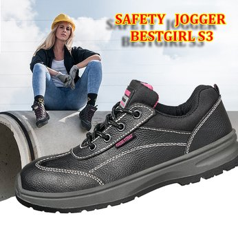 Giày Bảo Hộ Nữ Safety Jogger Bestgirl S3 Nhập Khẩu