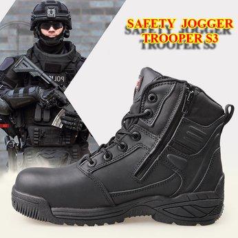 Giày Bảo Vệ Jogger Trooper S3 Cho Bảo Vệ, An Ninh