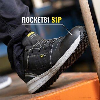Giày Bảo Hộ Chống Trượt Jogger Rocket81 S1P