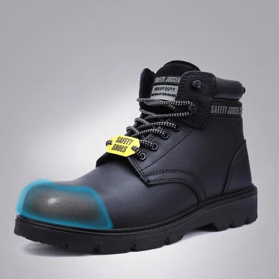 Giày bảo hộ#1 Giày bảo hộ Safety Jogger X1110 S3 chất liệu da bóng