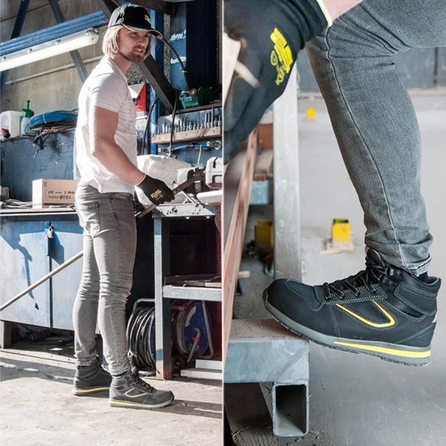Giày Bảo Hộ Chịu Nhiệt Jogger Speedy S3, Đế Chịu Nhiệt 300°C