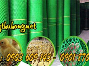 Lưới nhựa rào nuôi gà vịt giá rẻ tại tphcm