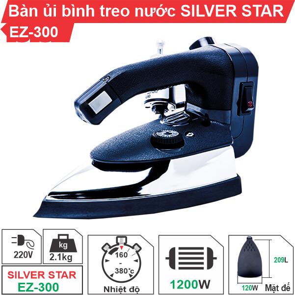Bàn ủi bình nước treo Silver Star EZ-300 chính hãng, giá ưu đãi