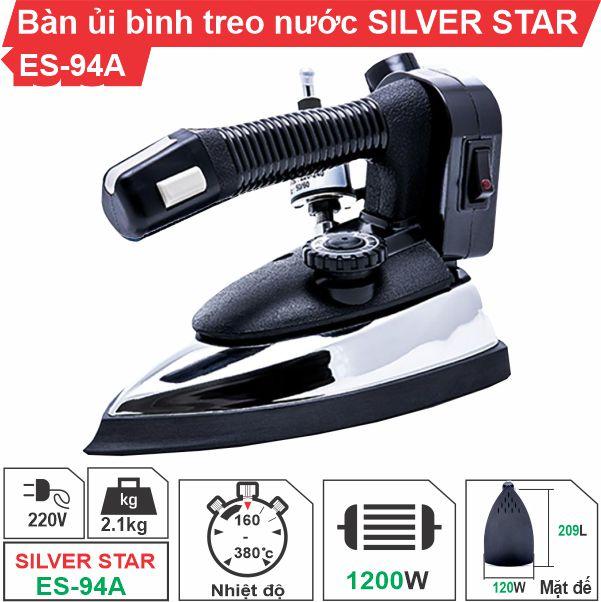 Bàn ủi bình nước treo ES-94A Silver Star cao cấp, giá rẻ