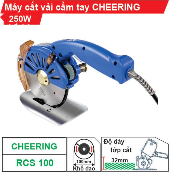 Máy cắt vải cầm tay tiết kiệm điện Cheering RCS-100 giá tốt