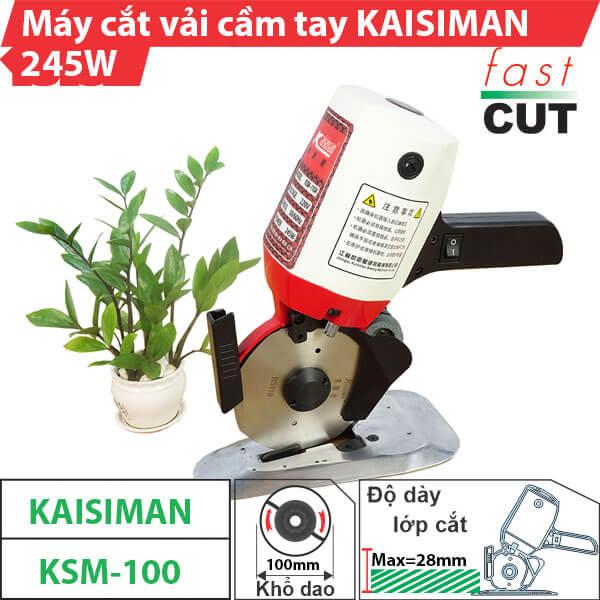 Máy cắt vải cầm tay Kaisiman KSM-100 chính hãng, chất lượng cao