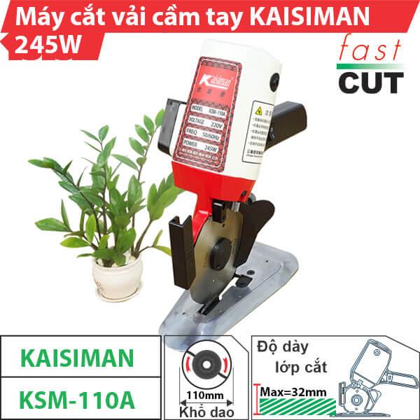 Máy cắt vải cầm tay Kaisiman KSM-110A chất lượng, giá rẻ