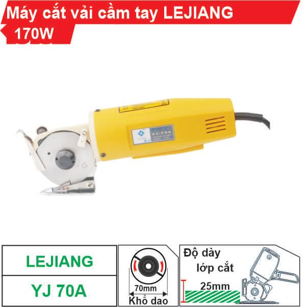 Máy cắt vải cầm tay Lejiang YJ-70A chất lượng, giá rẻ