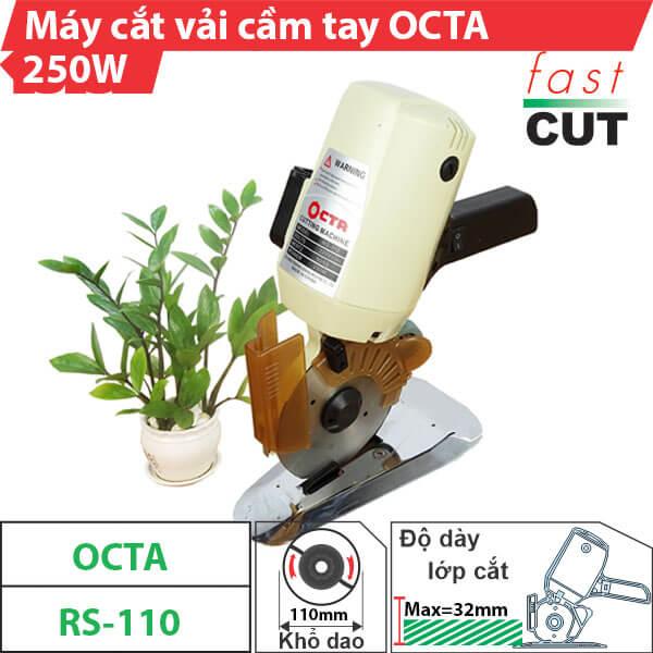 Máy cắt vải cầm tay Octa RS-110 giá rẻ,chính hãng