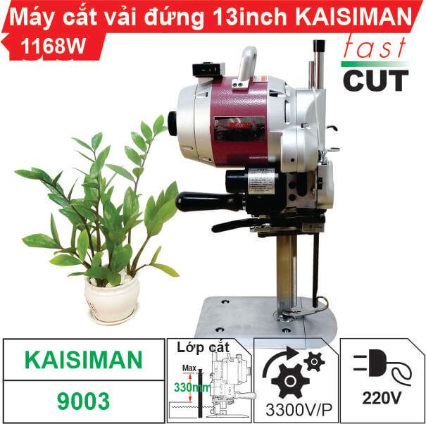 Máy cắt vải đứng 13 inch Kaisiman 1168W KSM-9003 chính hãng, giá tốt