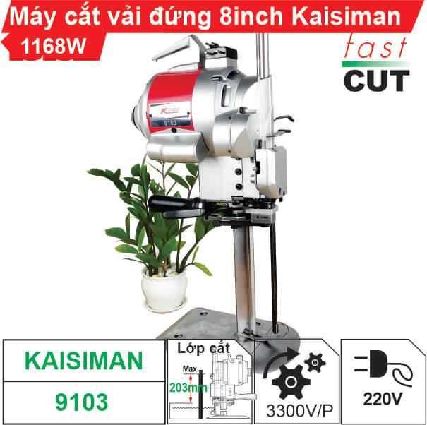 Máy cắt vải đứng Kaisiman 8 inch KSM-9103 1168W giá rẻ