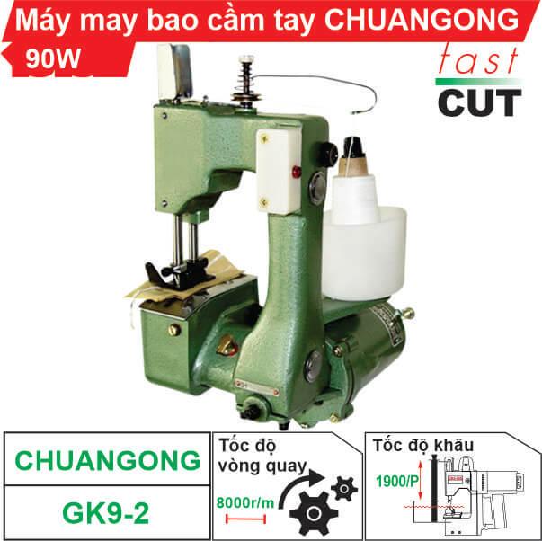 Máy may bao cầm tay mini GK9-2 chất lượng, giá rẻ