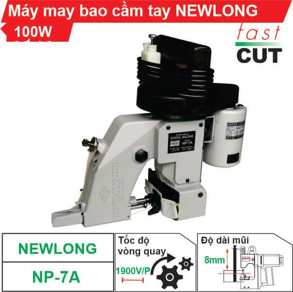 Máy may bao cầm tay Newlong NP-7A chất lượng, giá rẻ