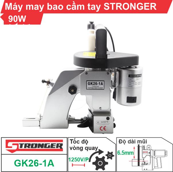 Máy may bao cầm tay Stronger GK26-1A giá tốt (bán chạy nhất)