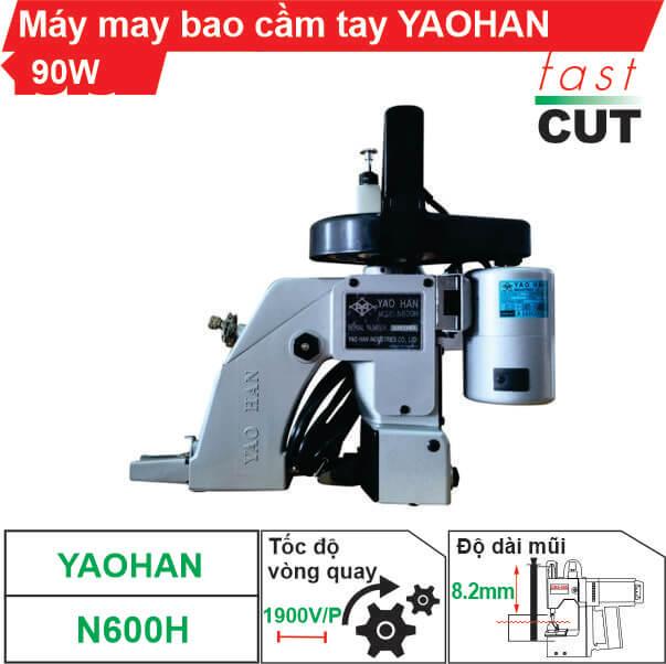 Máy may bao cầm tay Yaohan N600H chính hãng, giá tốt
