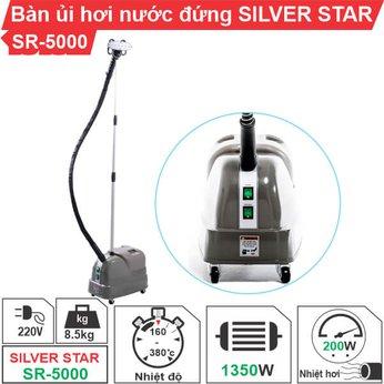 Bàn ủi hơi nước đứng Silver Star SR-5000