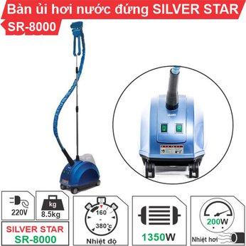 Bàn ủi hơi nước đứng Silver Star SR-8000