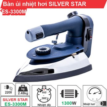 Bàn ủi nhiệt hơi Silver Star ES-3300M