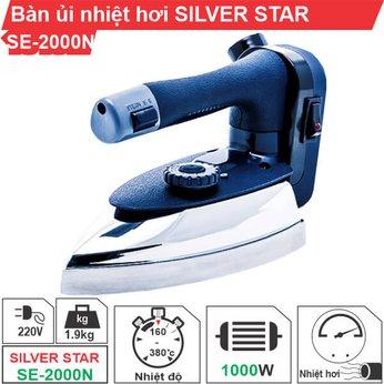 Bàn ủi nhiệt hơi Silver Star SE-2000N