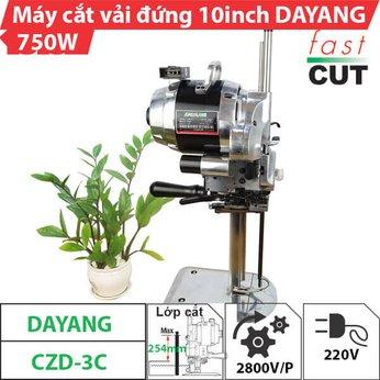 Máy cắt vải đứng 10 inch Dayang 750W (Có đèn)