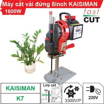 Máy cắt vải đứng 8 inch Kaisiman 1600W K7 (điện tử)